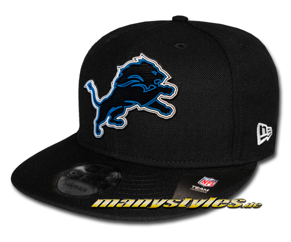 Detroit Lions NFL 2020 Draft Official 5950 9FIFTY Snapback Cap Black OTC von New Era