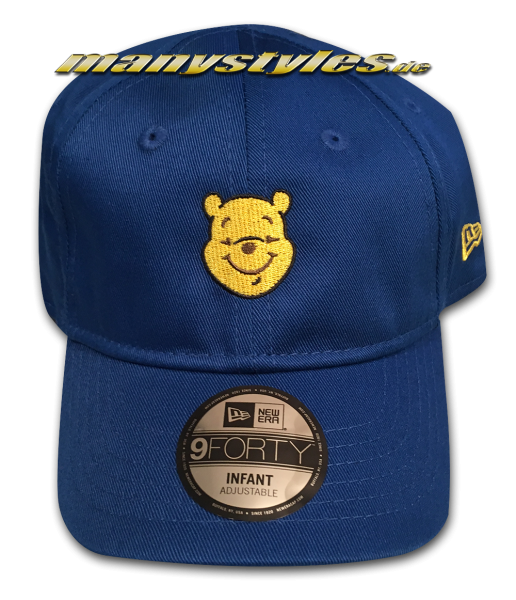 Disney Winnie Pooh Kids Character 940 Curved Visor adjustable Cap von New Era