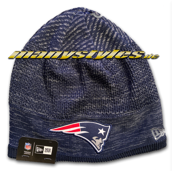 New England Patriots NFL Sideline 2020 Engineered Fit Knit Beenie von New Era