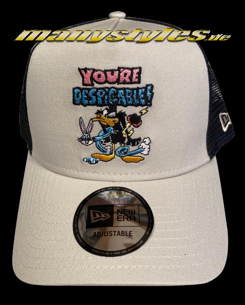Looney Tunes Daffy Duck 9FORTY Trucker Essential Adjustable Cap von New Era