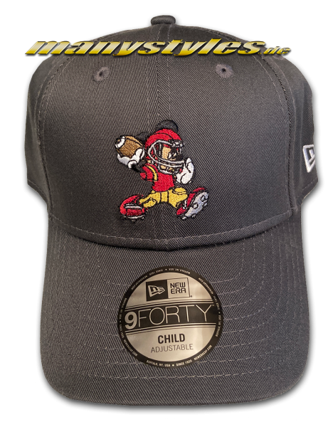 Mickey Mouse Disney 9Forty Kids Child Character Sports Cap Graphite Grey von New Era