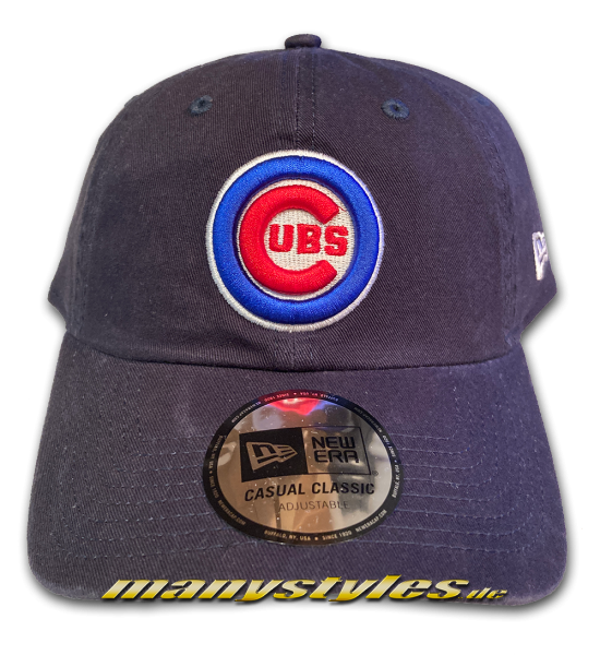 Chicago Cubs MLB Casual Classic Curved Visor Adjustable Dead Cap Navy Blue Red Royal White OTC von New Era