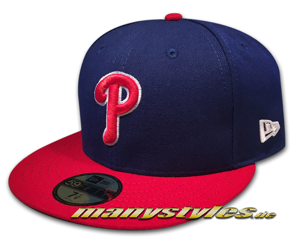 Philadelphia Phillies MLB 59FIFTY Authentic on field Performance Cap Alternate