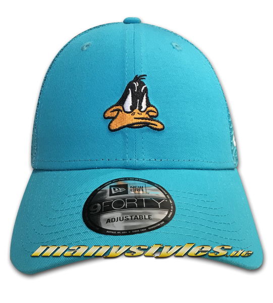 Looney Tunes Daffy Duck 9FORTY Trucker Essential Adjustable Cap von New Era