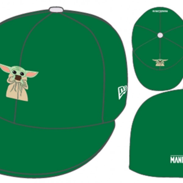 Star Wars Licensed Disney 59FIFTY Fitted Exclusive Cap The Baby The Child Baby Yoda Camera Phone The Mandalorian