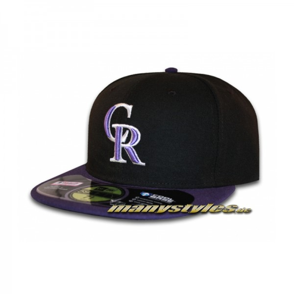 Colorado Rockies 59FIFTY MLB on field Authentic Cap Alternate
