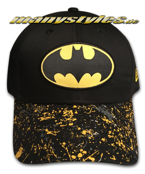DC Comic Batman Kids Pack 9FORTY Adjustable Cap Black Yellopw OTC von New Era
