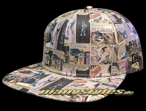 New Era DC Comics Batman 9FIFTY Original Fit Snapback Comic Snap Cap All Over