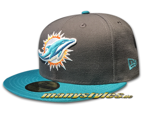 Miami Dolphins NFL Ballistic Visor Cap official Team Color OTC von New Era