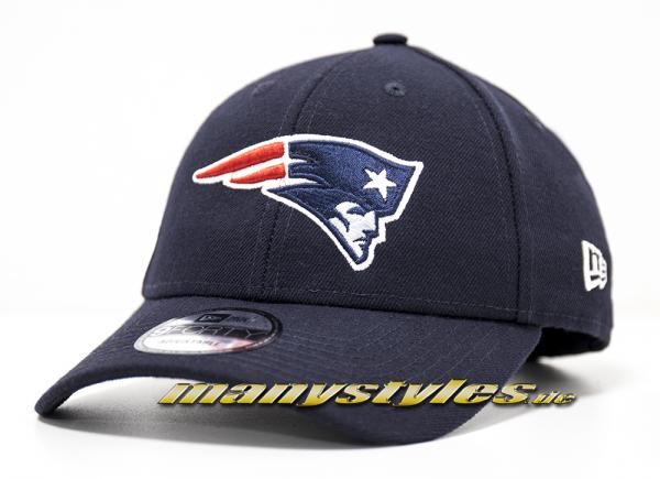 New England Patriots NFL Vll Superbowl Patch 9Forty Cuved Visor Cap Black von New era