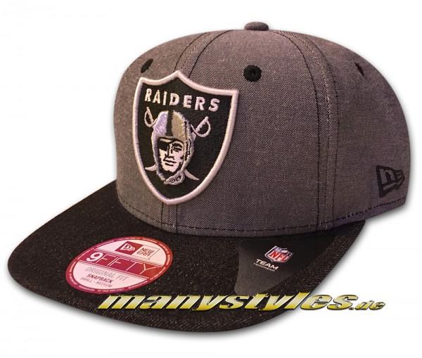 Oakland Raiders-nfl 9FIFTY Original Fit Snapback Cap frontside