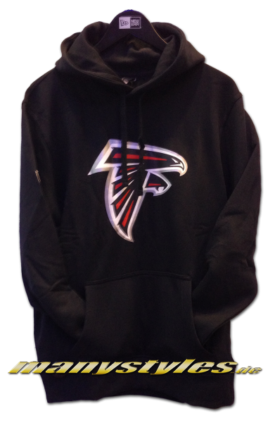 Atlanta Falcons NFL Team Logo PO Hood Hooded Black Team Color von New Era