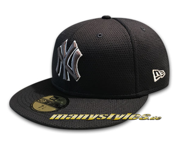 NY Yankees MLB 59FIFTY Tone Tech Redux 5950 von New Era Navy Grey White