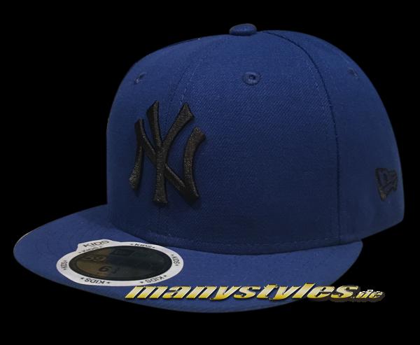 NY YANKEES New Era MLB Basic Cap  Blue Black 59FIFTY von New Era Frontside