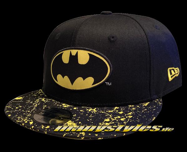 Batman DC Comic 9FIFTY Child CY Paint Splat Visor Kids 950 9FIFTY Snapback Cap von New Era