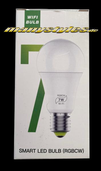 Universal Smart LED WiFi Bulb Bluetooth Multi Color mit 16 Mio Farben von RoHS
