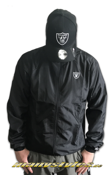 New Era Oakrai Team Apparel Trkot Jacket Black New Era