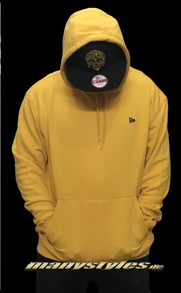New Era Essential Oversized Hooded Yellow Black