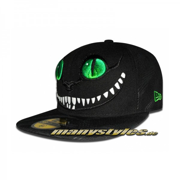 New Era Alice in Wonderland Cap Cheshire Cat exclusive Jungle ltd edition Green Eyes