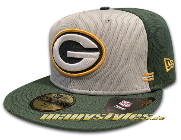 Greenbay Packers 59FIFTY SL Home NFL Sideline 2020 Cap von New Era