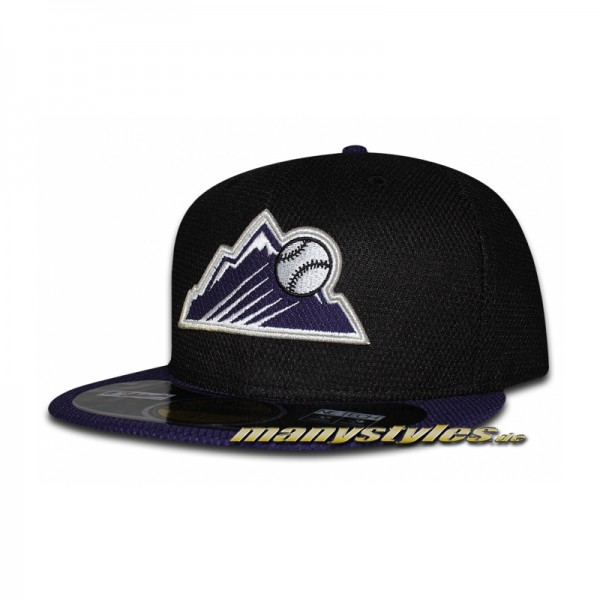 New Era COLORADO ROCKIES MLB Diamond Era Performance on field Authentic Cap