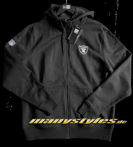 Oakland Raiders - Las Vegas Raiders NFL Team Apparel Full Zip Hooded New Era