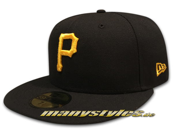 Pittsburgh Pirates 59FIFTY MLB Authentic NE Team Structure frontside