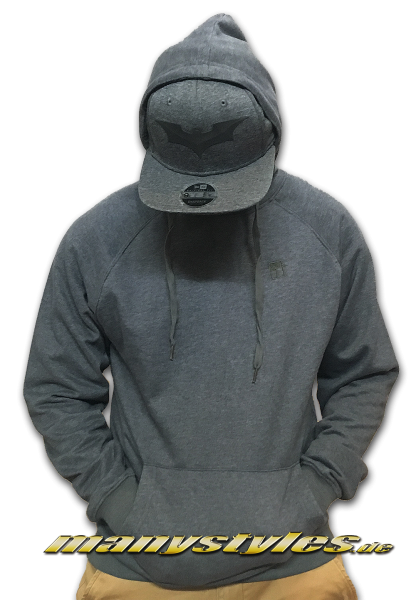 Mahagony Hooded Sweater Melange Grey