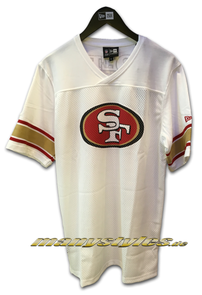 San Francisco 49ers NFL Team Jersey White OTC Original Team Color von New Era