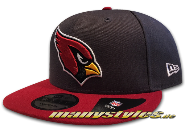 Arizona Cardinals 9FIFTY NFL Emea 950 Snapback Cap Charcoal OTC von New Era