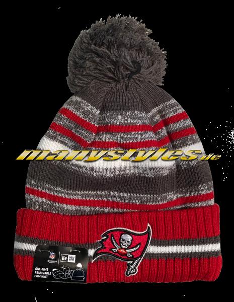 Tampa Bay Buccaneers NFL Sideline Knit Beenie Red OTC von New Era