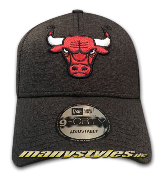 Chicago Bulls 9FORTY NBA The League Curved Visor Cap Shadow Tech von New Era