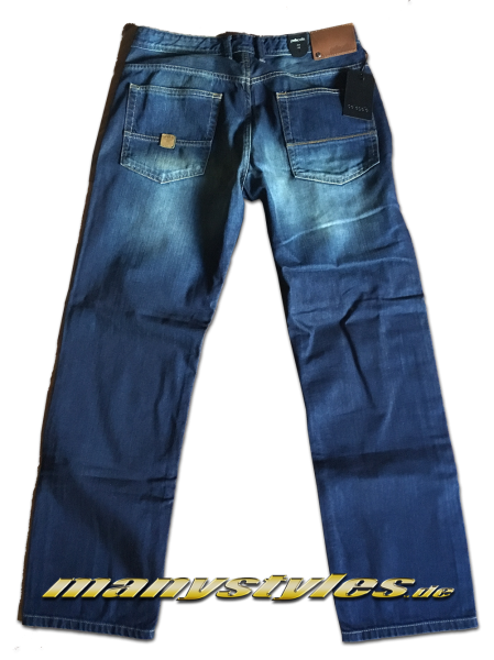 Pelle Pelle Pants Baxter Crossfit Tunis Indigoblue Stonewashed