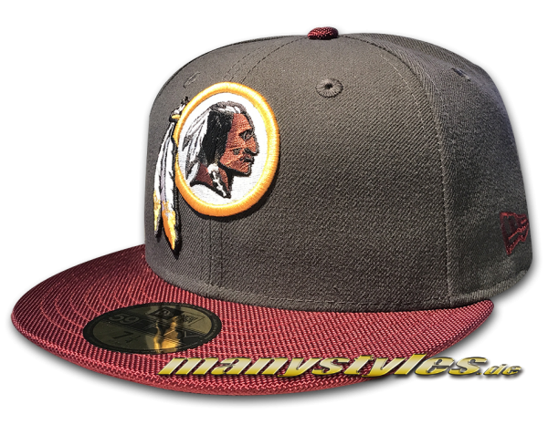 Washington Redskins NFL Ballistic Visor Cap official Team Color OTC von New Era