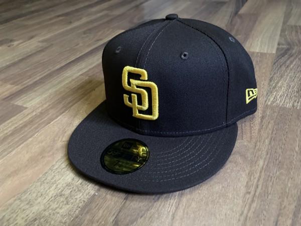 San Diego Padres MLB 59FIFTY Authentic NE Team Structure Cap von New Era