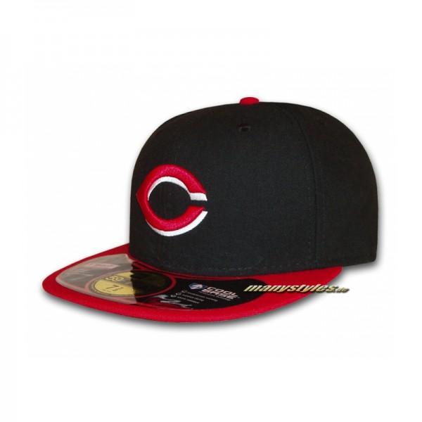 "Cincinatti Reds 59FIFTY MLB on field performance Cap ""Authentic"" Alternate"