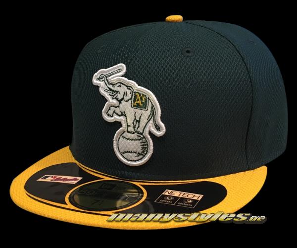Oakland Athletics 59FIFTY MLB Diamond Era Authentic Alternate Cap Elephant Logo von New Era
