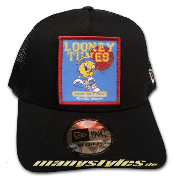 Looney Tunes Tweety Trucker Adjustable Cap Black von New Era von New Era