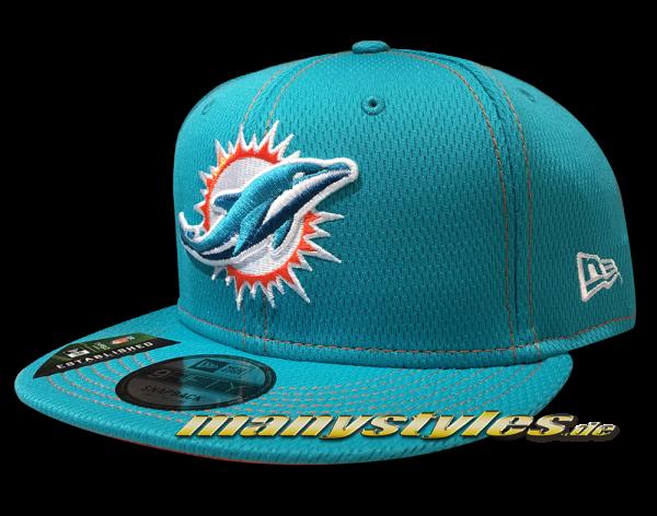 Miami Dolphins 9FIFTY NFL19 SL RD 950 Snapback Cap OTC Teal Orange von New Era