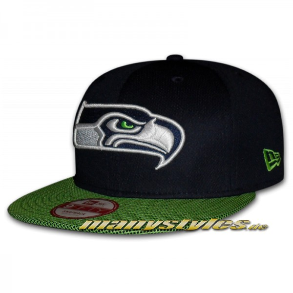 Seattle Seahawks 9FIFTY NFL Visor Mesh Snapback Cap