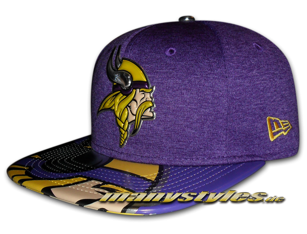Minnessota Vikings 9FIFTY NFL 2017 Draft OF Snapback Cap