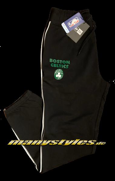 manystyles Boston Celtics NBA Piping Jogger Suit Pants Black OTC von New Era