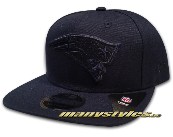 New England PATRIOTS NFL 9FIFTY OF Original Fit Snapback Cap Metallic Mark Tonal Navy von New Era