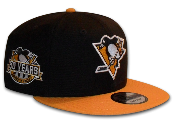 Pittsburgh Penguins 59FIFTY NHL 50 Years Edition Snapback Cap in Team Color
