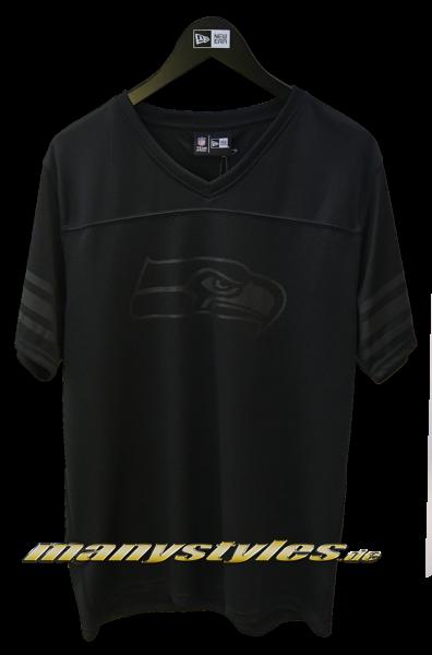 Seattle Seahawks NFL Team Jersey Black on Black Ltd Ed. von New Era