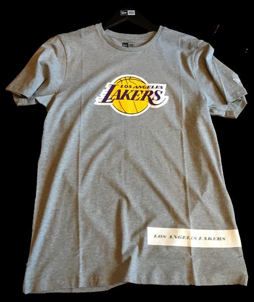 LA Lakers NBA Block Wordmark Tee