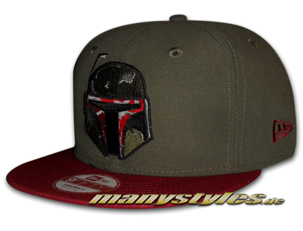 Star Wars Licensed 9FIFTY Novcar Boba Fett Snapback Cap von New Era