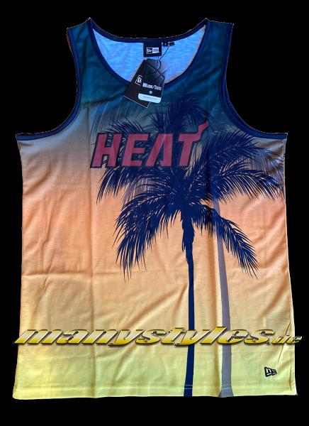 Miami Heat NBA AOP Summer City Tank Sunset von New Era