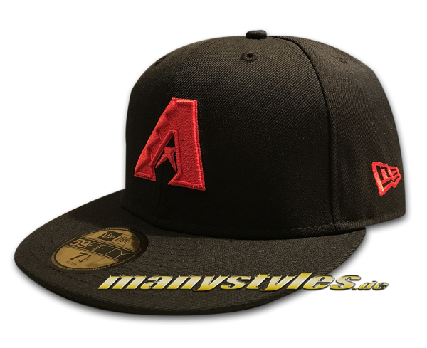 Arizona Diamond Backs MLB Basic 59FIFTY Black Scarlet Red von New Era