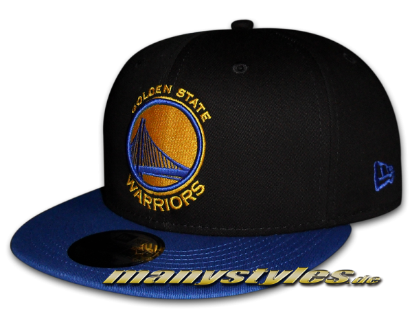 Golden State Warriors NBA Black Base Snapback Cap OTC